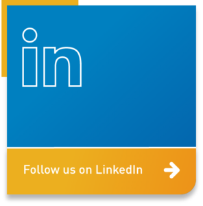Button: follow us on LinkedIn